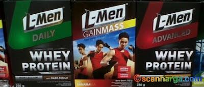 L-Men Gain Sebagai Suplemen Menambah Berat Badan