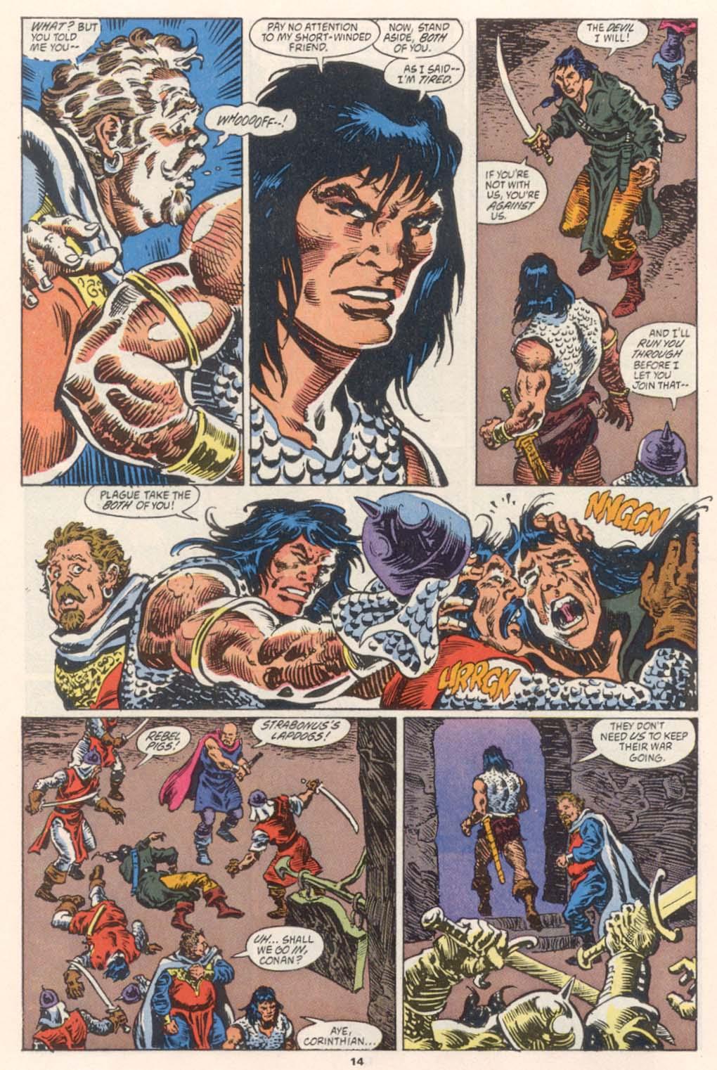 Conan the Barbarian (1970) Issue #252 #264 - English 12
