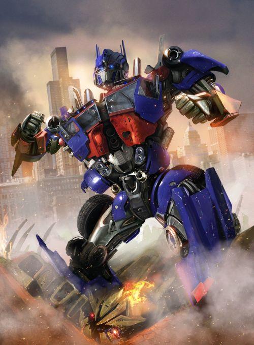 Dan Luvisi deviantart ilustrações digitais fantasia filmes quadrinhos cultura pop Optimus Prime