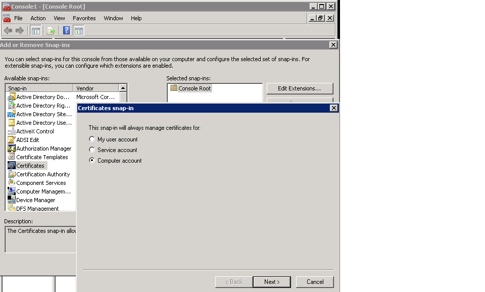 Sharma\'s notes: How to export sip and a/v certificate from lync ...