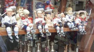 souvenir window in Montreal, Canada