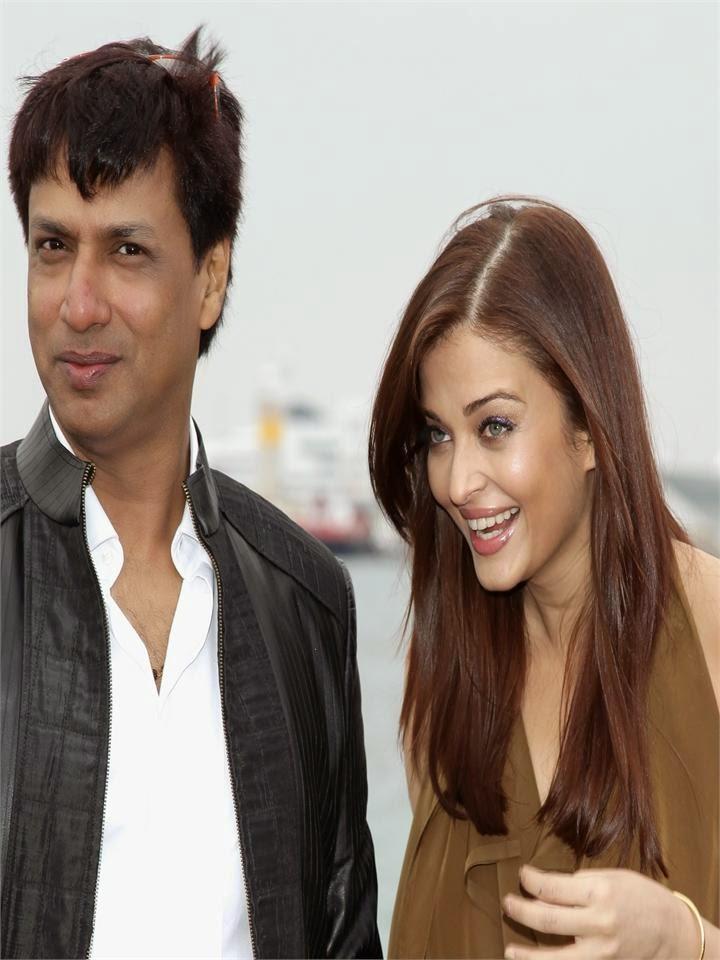 Aishwarya Rai With Bollywood Film Director madhur bandharakar hot sexy pics hot bollywood actress