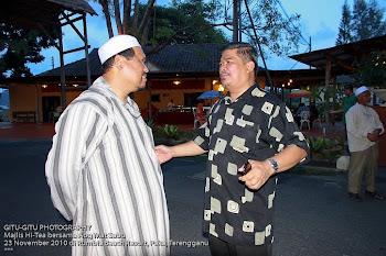 Bersama Hj Mat Sabu (Timbalan Presiden PAS)