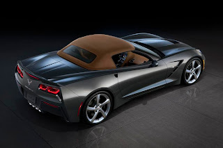 Chevrolet Corvette Stingray Convertible (2014) Rear Side