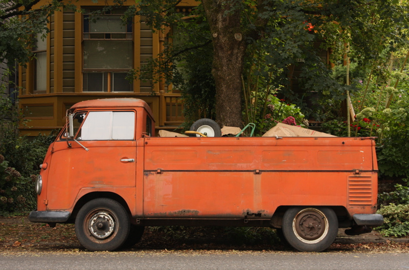 1960 Volkswagen Transporter Single-Cab Pickup.