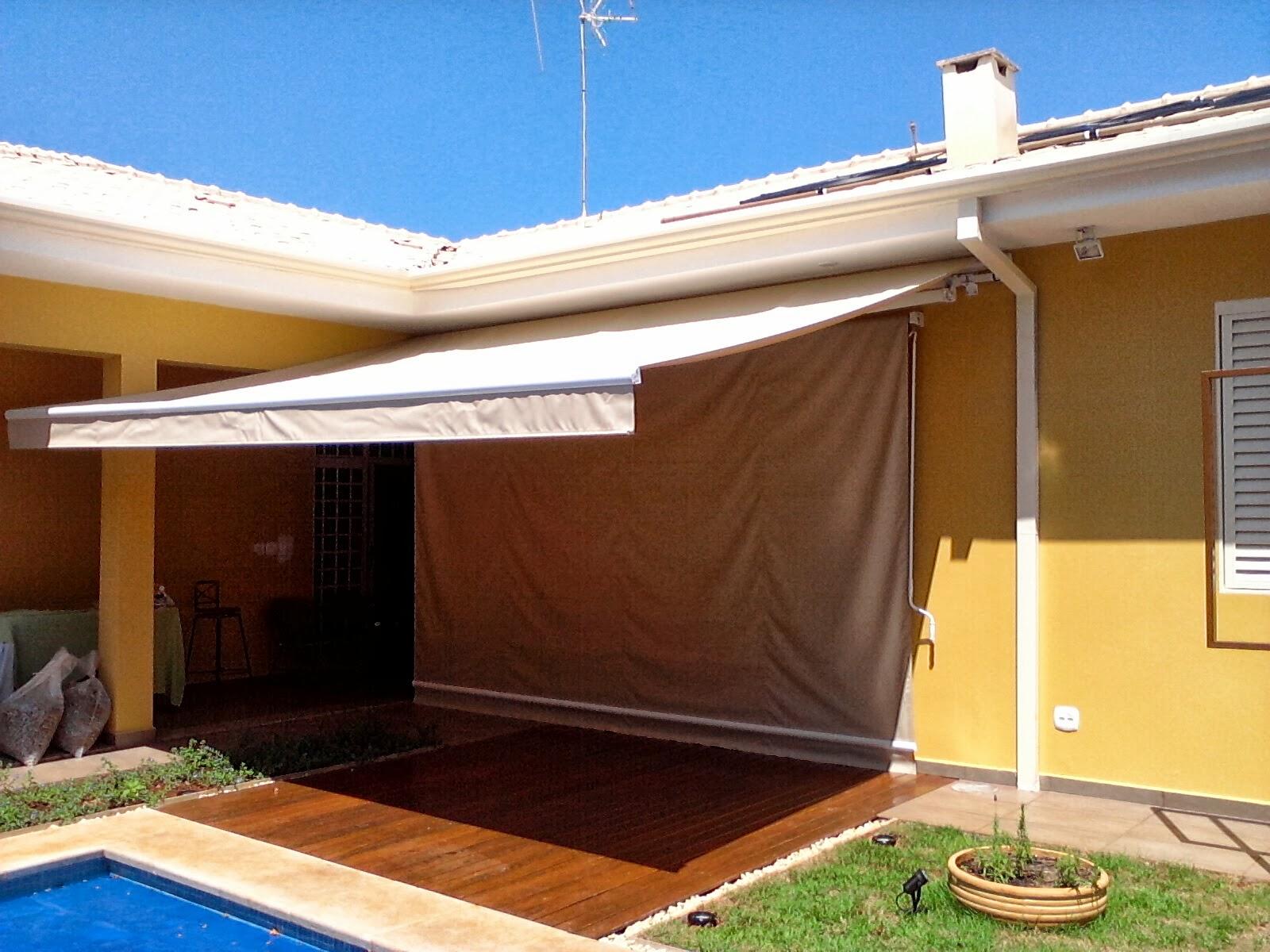 Fotos modelos e pre os de toldos e cobertura residencial for Toldos correderos baratos