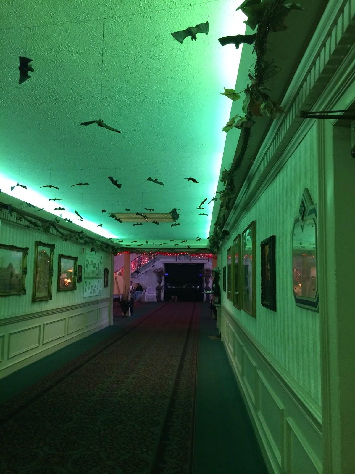 Hotel Breakers at Cedar Point's Bat Hallway for Halloweekends