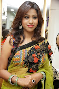 Manali rathod sizzling photos in saree-thumbnail-7