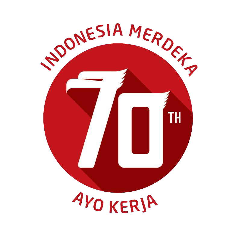 Download Logo 70 Tahun Indonesia Merdeka .PNG