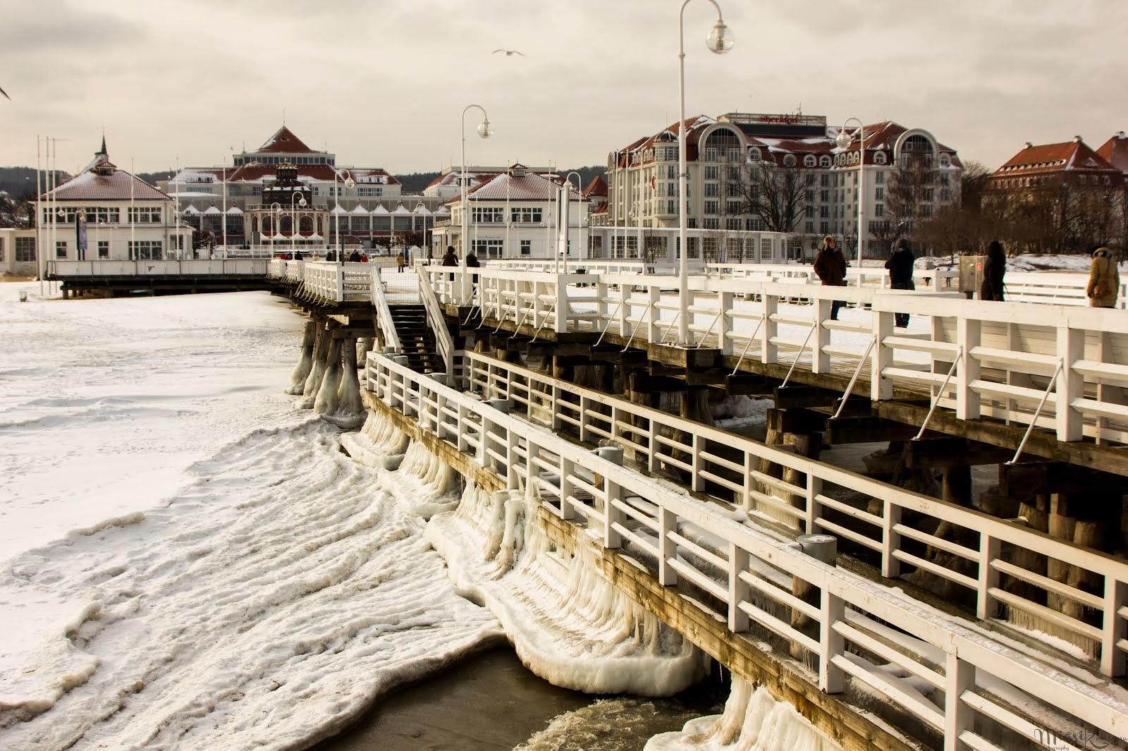 Zima w Sopocie...