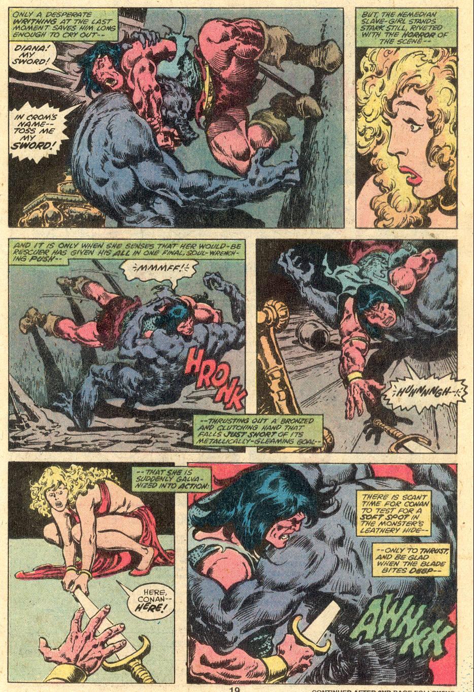 Conan the Barbarian (1970) Issue #107 #119 - English 13