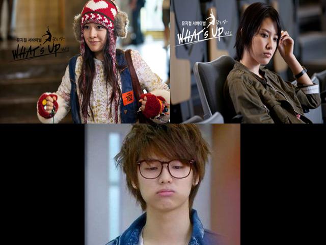 Top: Kim Ji-Won, Im Joo-eun Kang Min-Hyuk
