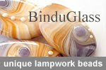 My lampwork beads shop