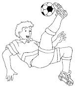 dibujos para colorear dibujos colorear futbol