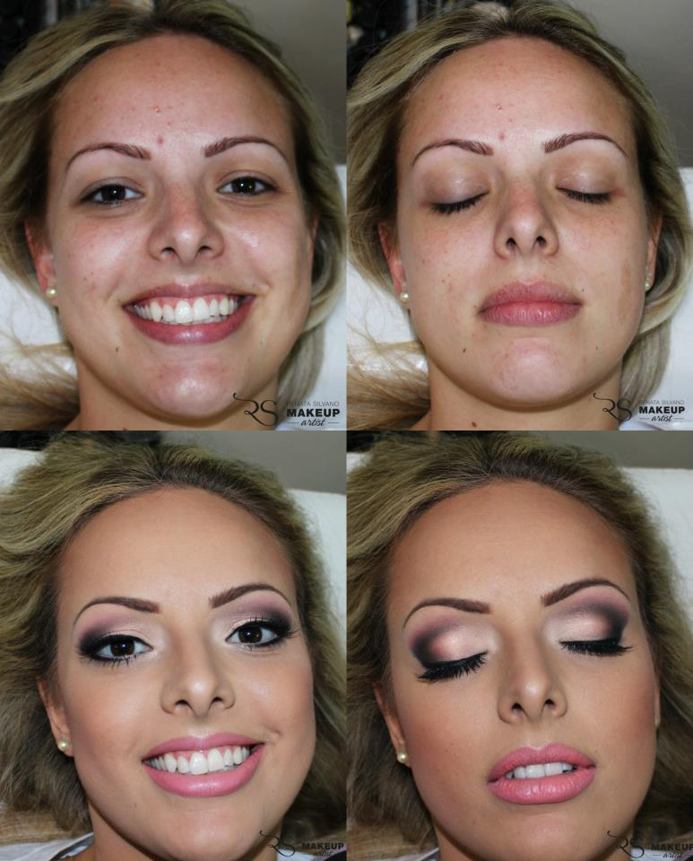Tutorial de maquiagem e dicas de maquiagem: Antes e Depois da ...
