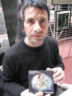 Le nouvel album de Daonet dédicacé par Brucéro