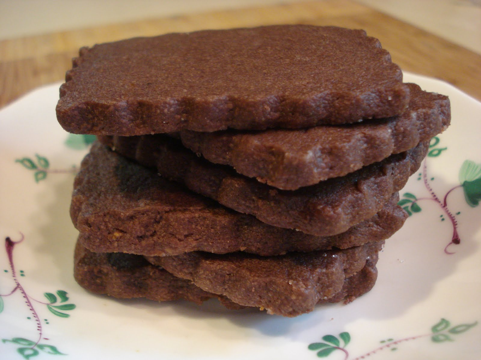 The Cookie Scoop: Chocolate Orange Cardamom Shortbread Cookies