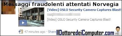 attentati facebook norvegia