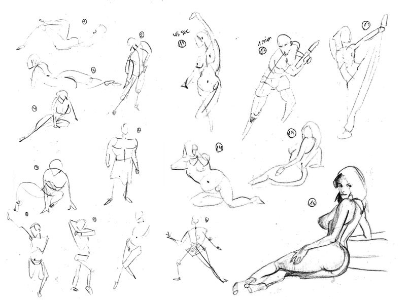 "Spartan Camp #230 - 50 gestures + Optional ""Long study: Knee"""