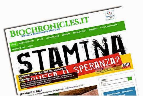 biochronicles portale delle biotecnologie