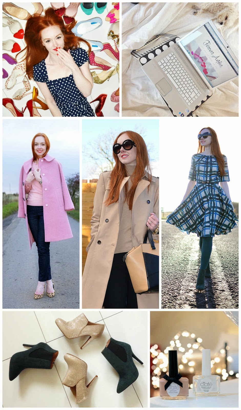 Blog crush, blogger crushes, favourite bloggers, Forever Amber, red head
