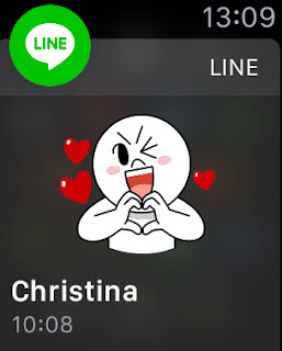line app for apple