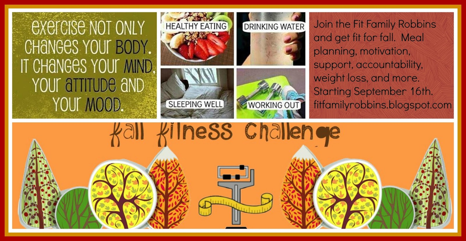 fit family robbins fall fitness challenge