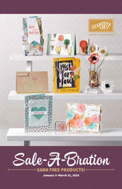 Stampin' Up! Sale-A-Bration 2016 Brochure
