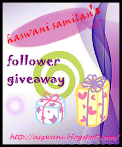 @12 mac : haswani samilan: follower giveaway