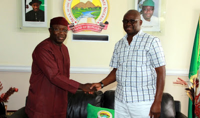 Ayo fayose wants ekiti lawmakers to support Kayode Fayemi's ministerial nomination,fayose and kayode fayemi,