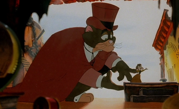 Cat R. Waul and Tanya An American Tail: Fievel Goes West 1991 animatedfilmreviews.blogspot.com