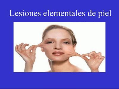 Lesiones elementales de piel y mucosas (I y II parte)
