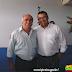Prefeito Ademildo participou da inauguração do novo galpão da JS em Ipirá