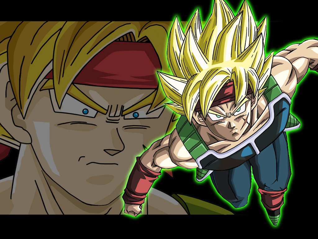 Dragon Ball Z Bardock Super Saiyan 3