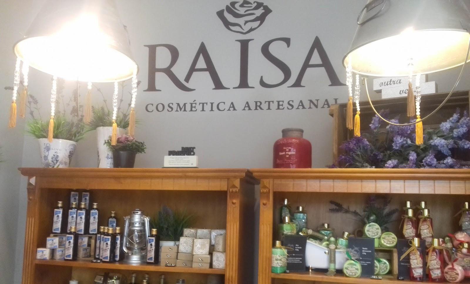 Well-known Loja Raisa Cosmética Artesanal | Blog Moda da Gente RQ56
