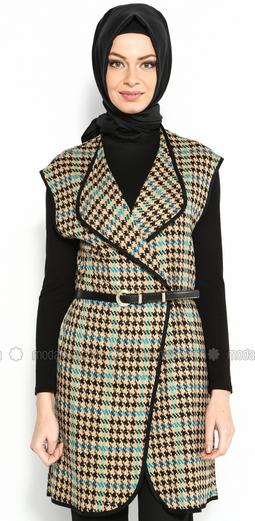 Desain Baju Atasan Muslim Modern