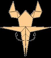 Cara Membuat Origami Scorpion