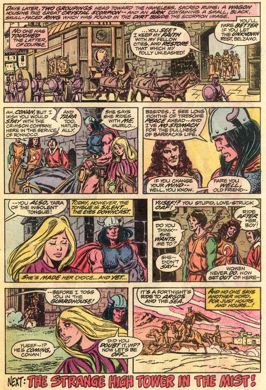 Conan the Barbarian (1970) Issue #55 #67 - English 19