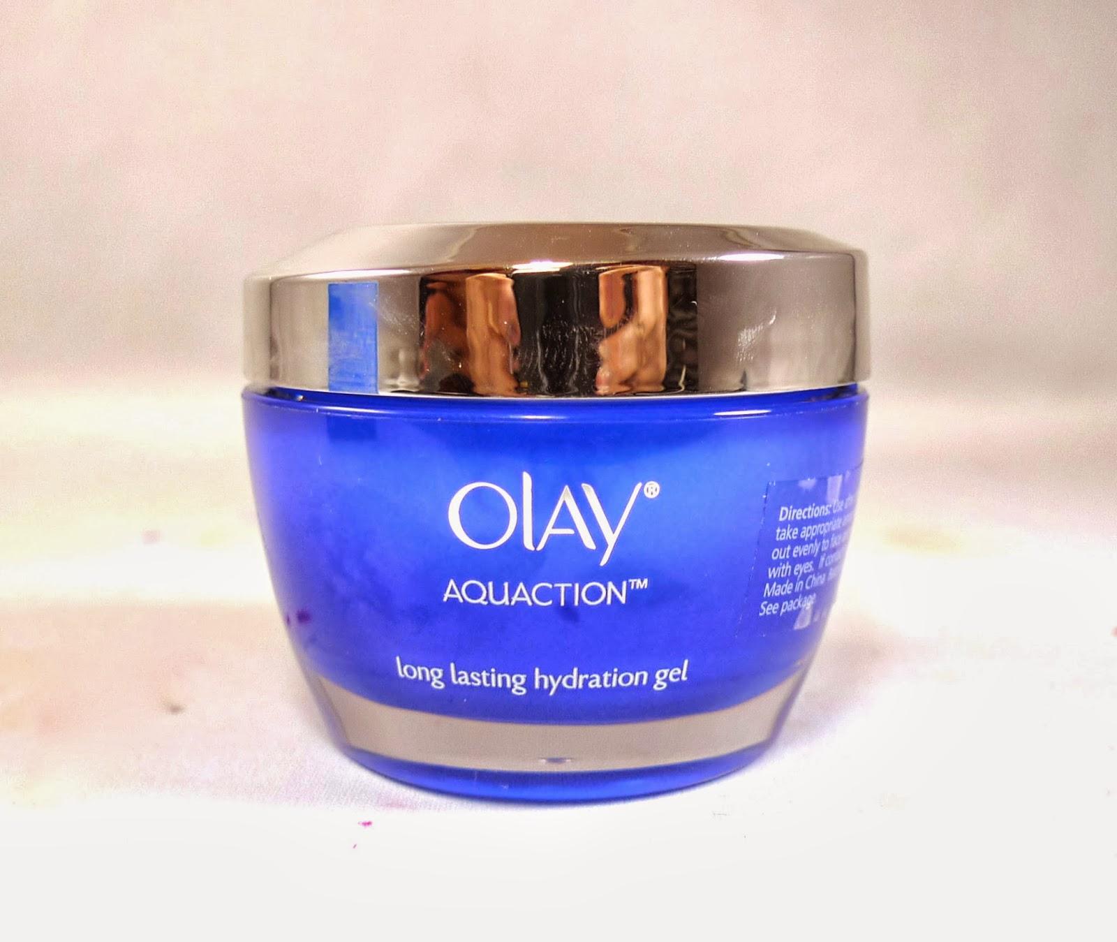 Olay Aquaction Moisturizer Long Lasting Hydration Gel
