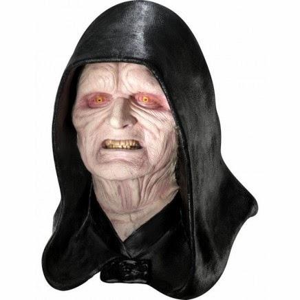 Máscara de látez Emperador Palpatine