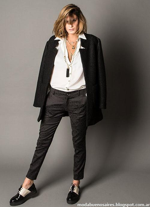 Marcela Pagella invierno 2015 ropa de mujer. Moda invierno 2015.