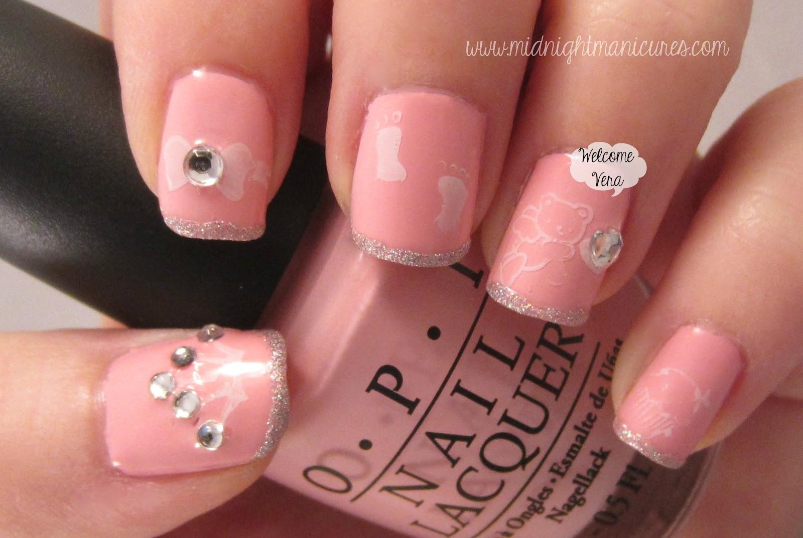 Nail art design 2014 hot pink nail art for summer hot pink nail art for summer prinsesfo Gallery