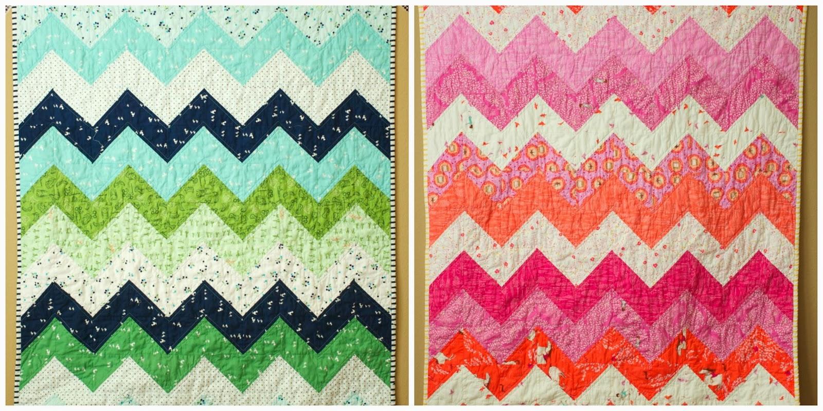 Hello Zig Zag Quilt Pattern : a quilt is nice: zig zag quilt kit tutorial