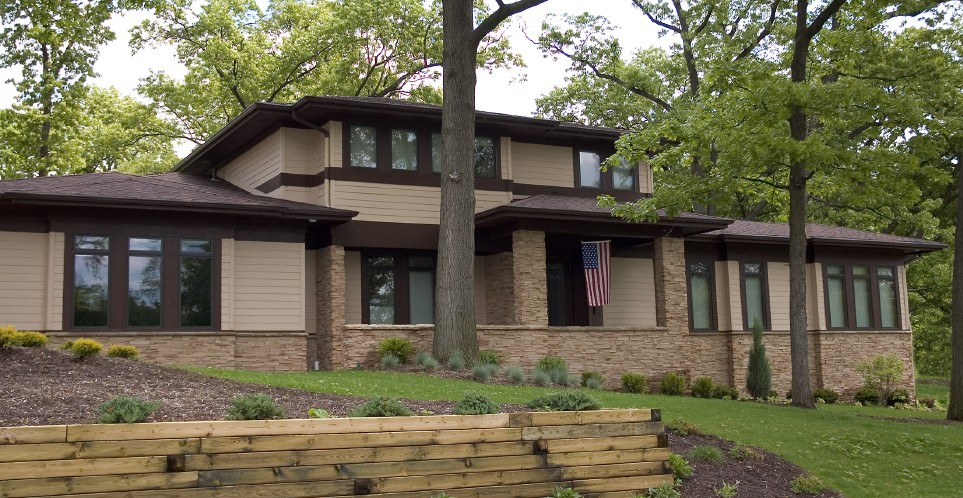 Home styles home style decoration idea for Prairie style architecture