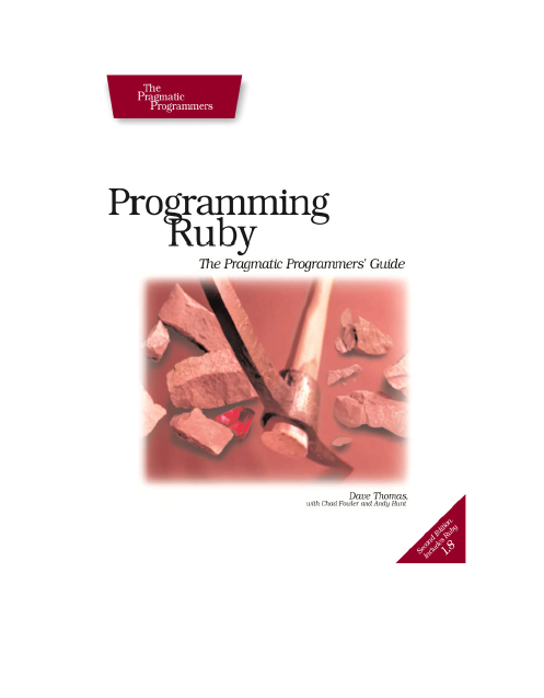 Programming Ruby, 2nd Edition : pdf ebook | pdf book download