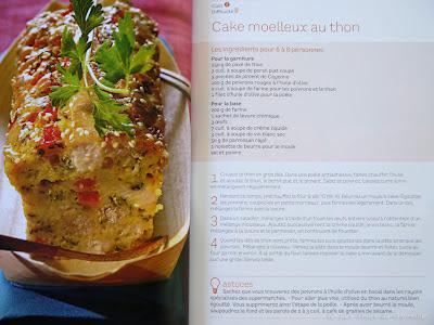 Cake moelleux au thon - Voir la recette