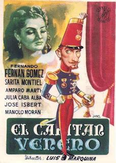 El capitán Veneno 1950 | Caratula | Sara Montiel, Fernando Fernan-Gomez