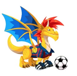 wind dragon gummi dragon cool fire dragon soccer cool fire