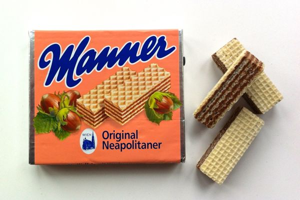 Manner Original Neapolitaner Wafers suitable for vegans