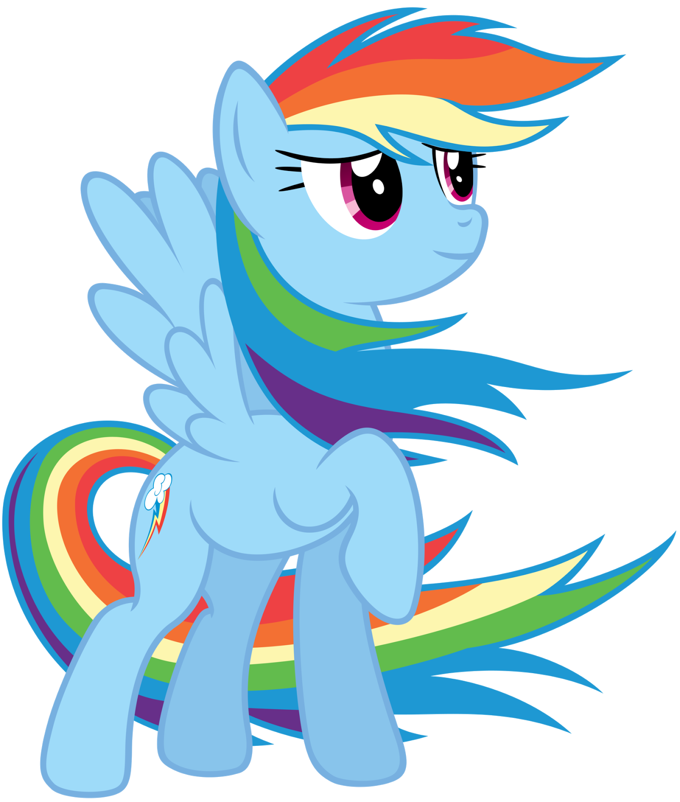 Fanmade rainbow dash colors of the wind by stabzor png